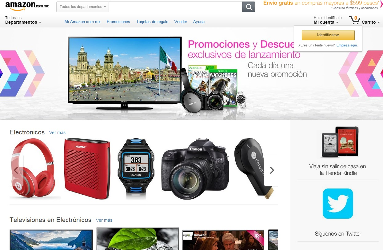 Amazon launches full retail and marketplace offerings in Mexico